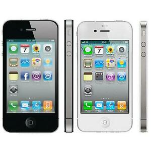 Apple iPhone 4 Mobile Smartphone 8GB 16GB 32GB Sim Free Unlocked Good Condition