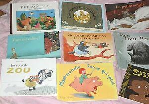 9 albums  grand format -  ecole des loisirs - claude ponti - la petite souris