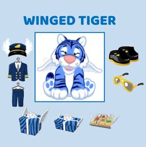 Webkinz Winged Tiger (CODE ONLY MESSAGED)