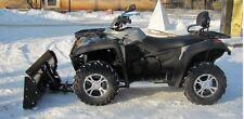 Massives Schneeschild 150 cm 4x4 Quad ATV   komplett Set zum TOP Sommerpreis !!
