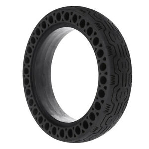 Xiaomi M365 Replacement Shock Absorbent Solid Tyre with Futuristic Tread, Non-Pn