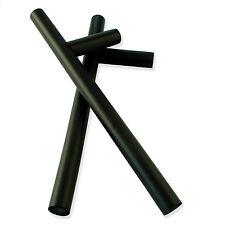 Rubber Foam Training Practice Tonfa Baton Police Stick - Pair