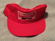 VTG Marlboro Racing Patch Indy Formula One F1 IndyCar Red Hat Baseball Cap USA