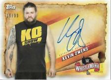 2020 Topps WWE Road to WrestleMania Autographs #AKO Kevin Owens Auto/99