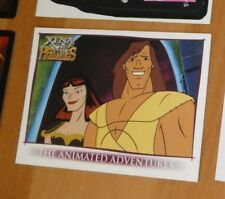 HERCULES AND XENA ANIMATED PROMOTIONAL CARD P1 PROMO NM>MINT
