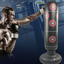 Free Standing Punching Bag Boxing Cardio Kickboxing Mma Fitness Training Adult