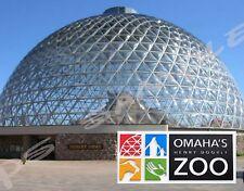 Nebraska - Omaha - HENRY DOORLY ZOO - Travel Souvenir Flexible Fridge MAGNET