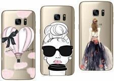 Samsung Galaxy S7 - Paquete de 3 Carcasas Gel Suave con Estampado Lujo