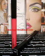 MAC Cosmetics Kissable Lipcolour Gloss Lipstick EXXX-HIBITIONIST *limited** NIB