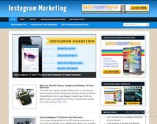 Instagram Marketing Blog Plus Ready Made Affiliate Website Free Hosting Setup