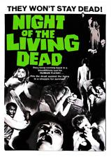 NIGHT OF THE LIVING DEAD VINYL STICKER ZOMBIE G. ROMERO CLASSIC HORROR POSTER