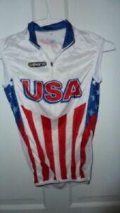 Skins Men's USA cycling bike vest XS XSMALL