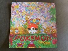 Pokémon VIDEOGAME SOUNDTRACK Vinyl LP Record Blue/white swirl Pokemon