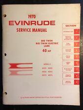 Evinrude Boat & Watercraft Repair Manuals & Literature for