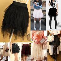 Tulle Tutu Gauze Tier Layered Skirt Dress Multiple Style dr004