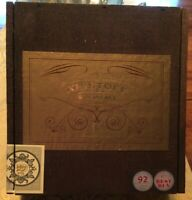 Kristoff San Andres Wooden Cigar Box - May Contain Some Tobacco Leaves