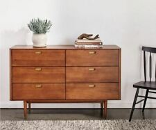 Holfred Double Dresser Timber Brown FREE SHIPPING