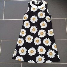 ATMOSPHERE LADIES BLACK DAISY FLORAL DRESS SIZE 8