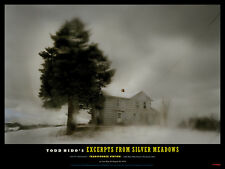 """TODD HIDO 'Tree and House' Silver Meadows 2013 Exhibition Poster 12"""" x 16"""" *NEW*"""