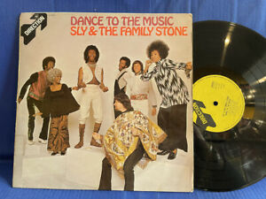 SLY AND FAMILY STONE DANCE MUSIC 8-63412 DIRECTION ORIGINAL UK LP EXC+