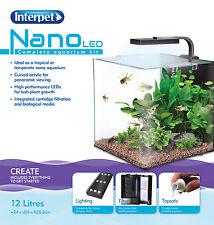 Interpet Nano LED Complete Aquarium Fish Tank Kit - 12 L