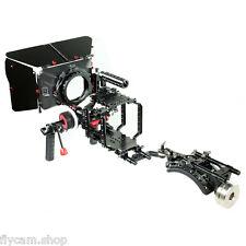 CAMTREE HUNT 15mm Cage Shoulder Rig MatteBox Follow focus Kit Fr LCD Red Scarlet