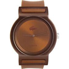 Unisex Brown Lacoste Tokyo Silicone Strap Watch 2000700