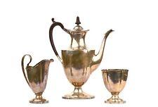 An English Style Porter Blanchard Sterling Silver Tea Coffee Service Set