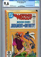 Wonder Woman #291 CGC 9.6 White Pages DC Comics 1982