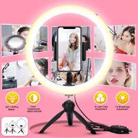 "12.5"" LED Ring Light Studio Dimmable Phone Selfie Makeup Video Youtube   k*"