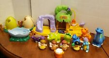 Fisher Price Little People Baby Dinoland Dinosaurs Play Set large lot