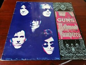 La Guns - Hollywood Vampires Vinyl LP 1991 Mercury Original UK release