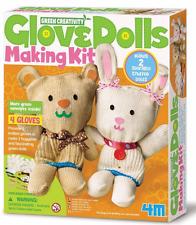 4M Glove Doll Making Kit~ Includes 2 Glove Dolls NIB