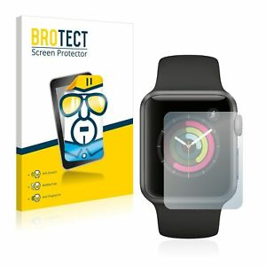 Apple Watch Series 1 (38mm), 2 x BROTECT® HD-Clear Screen Protector hard-coated
