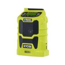RYOBI 18 VOLT PORTABLE RADIO AM/FM MP3 USB AUX BLUETOOTH  - P742