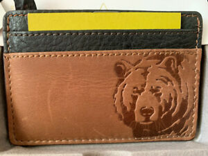 BRAND NEW  FOSSIL Mens Andy Leather Organizer Card Case - USA