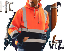 HI-VIZ VIS Reflective Waterproof Work wear High Visibility All Style 2 Tone UK