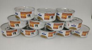 12 Cans 5.5 oz Chicken Veg. Stew Hill's Prescription Diet Kidney Care Dog Food