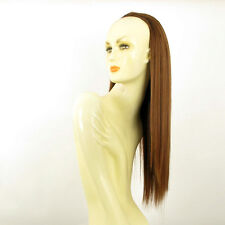 DT Half wig HairPiece extensions coppery golden brown 23.6  REF :14/30