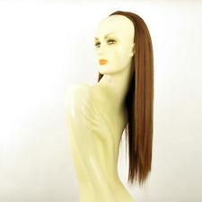 DT Half wig HairPiece extensions coppery golden brown 23.6  REF :14/30