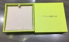 NEW AUTHENTIC CHAMILIA GREEN & GOLD LARGE FANCY SQUARE BRACELET GIFT BOX