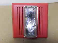 GE Indoor Strobe/Speaker 757-7A-SS25 Fire Alarm