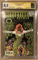 DETECTIVE COMICS 752 CGC 8.5 SIGNED by GREG RUCKA POISON IVY DC COMICS 1/01
