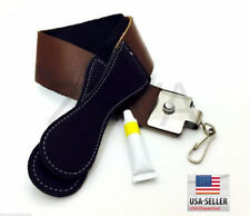 Professional Barber Leather Strop Straight Razor Sharpening Shave Shaving DOVO