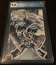 Marvel Comics SECRET AVENGERS #7 CGC 9.8 MOON KNIGHT TRON VARIANT COVER BROOKS