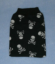 Black & White Skull & Cross Bones Pirate Mobile Phone Sock 8 X 11 cm