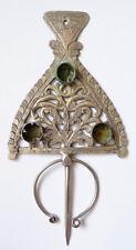 Grande fibule argent massif silver 19e siècle Kabyle  Maghreb ethnique
