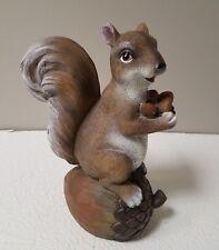 "Cracker Barrel 10"" Squirrel Figurine New In Box"