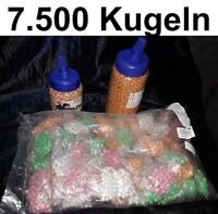 Großpackung 7.500 Softair Kugeln Airsoft Munition Softairpistole 6mm Gotcha