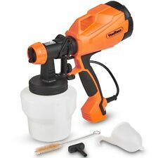VonHaus Electric HVLP Paint Sprayer Gun Spray Pattern & Flow Control for Home